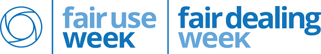 official logo of fair use and fair dealing week