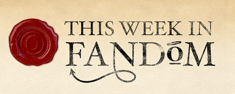 This Week in Fandom banner by Elin